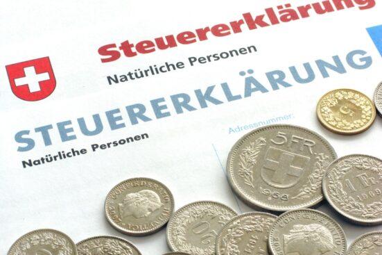 Steuererklärung - Schweiz